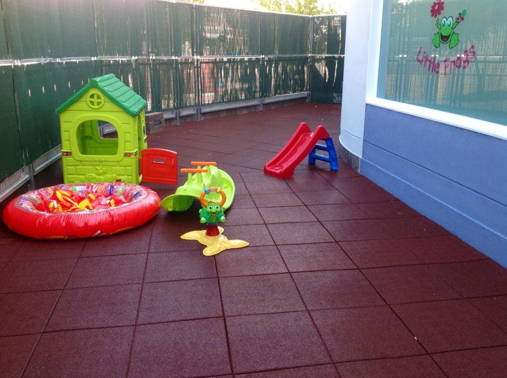 Placas De Caucho Para Parques Infantiles Materiales De